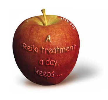 a Reiki treatment a day...