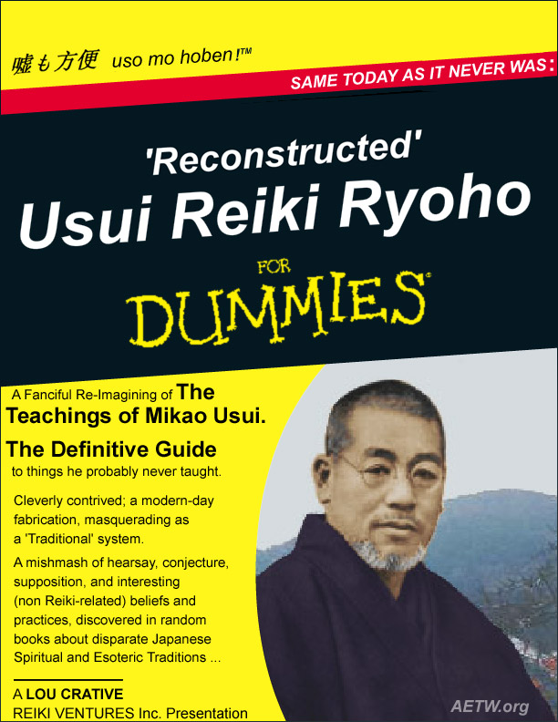 Reconstructed Usui Reiki Ryoho - the book