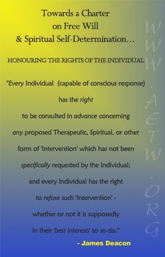 honouring the rights of the individual